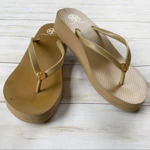 Tory Burch Wedge Foam FlipFlops